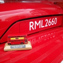 RML2660, out of 136 route masters it won the Geoff Rixion award for best in show at RM60 in 2014 2